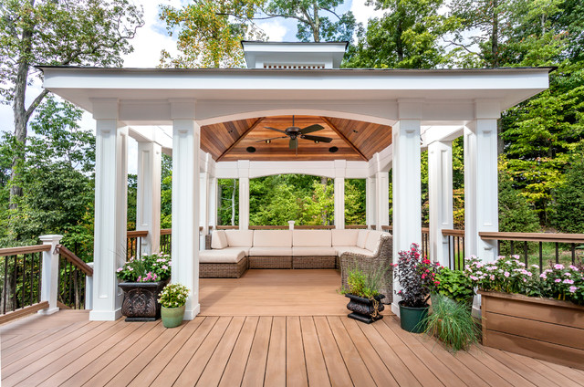 Pavilion Traditional Deck Other Metro By Decks By