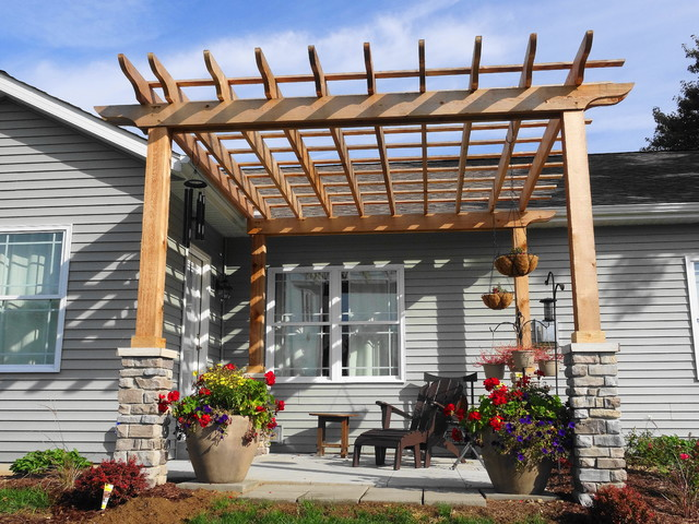 Pergola deck other metro by morrison builders for Pergola images houzz