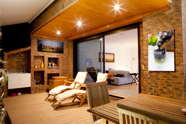 Perspectivas contempor neo terraza y balc n madrid - Disenos de barbacoas exteriores ...