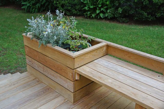 Planter detail   trendy   terrasse & altan   raleigh   af sophie ...