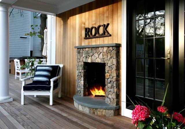 Pool rustic-deck