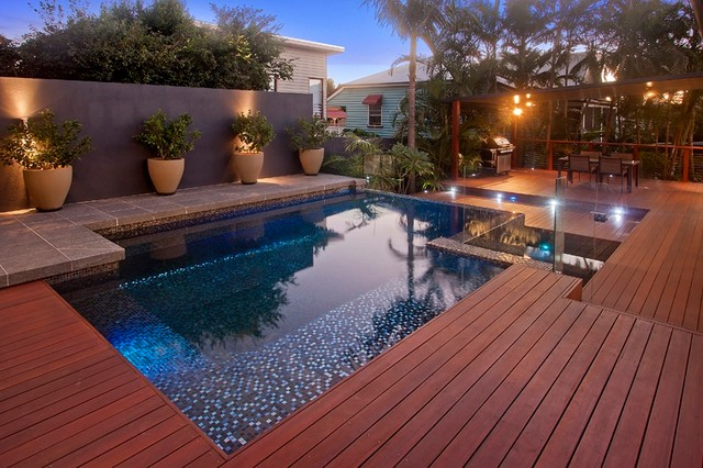 Pool deck brisbane contemporary deck brisbane by for Pool design queensland