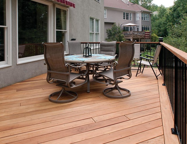 porch and deck details transitional deck atlanta by atlanta