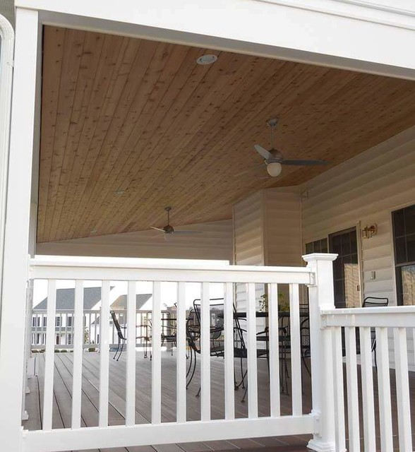 Porches traditional deck baltimore by cedarbrook for Eagleville pool and spa