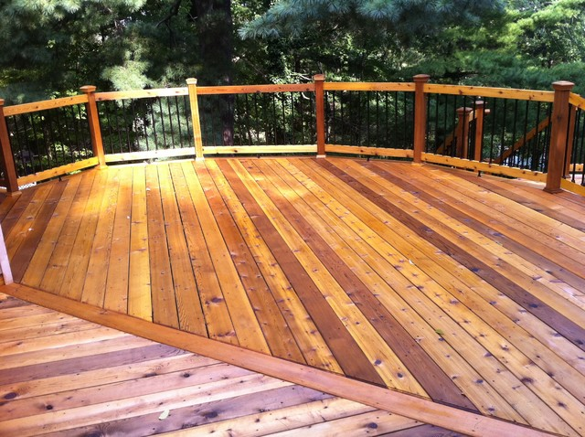 Port Huron MI Cedar Deck Traditional Detroit