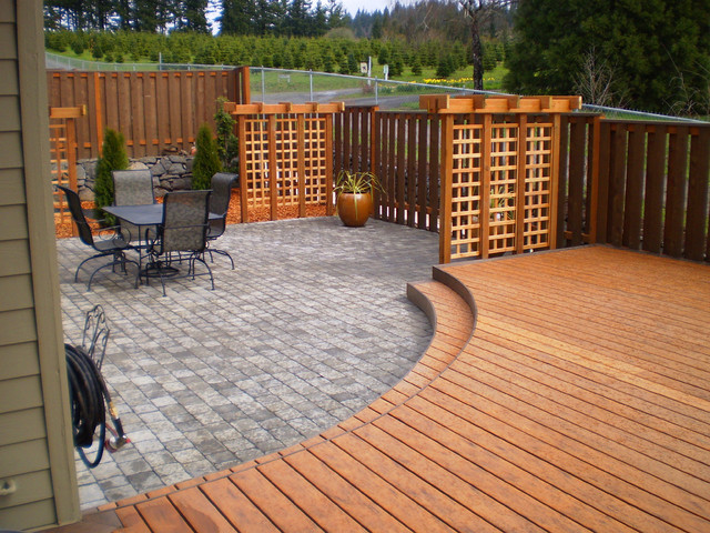 portland patio contemporary deck portland by