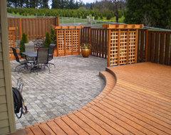 Portland Patio contemporary-deck
