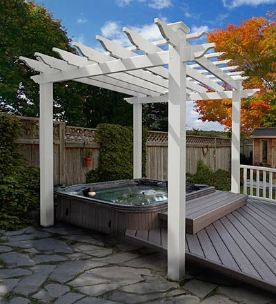Portland Pergola Traditional By Plow Amp Hearth