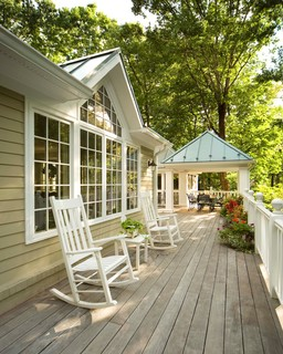 Potomac Maryland Addition and Kitchen - Traditional - Deck - other metro - by Dorman Home ...