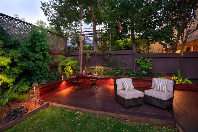 Fx luminaire outdoor lighting houzz deck contemporary deck idea in san francisco workwithnaturefo
