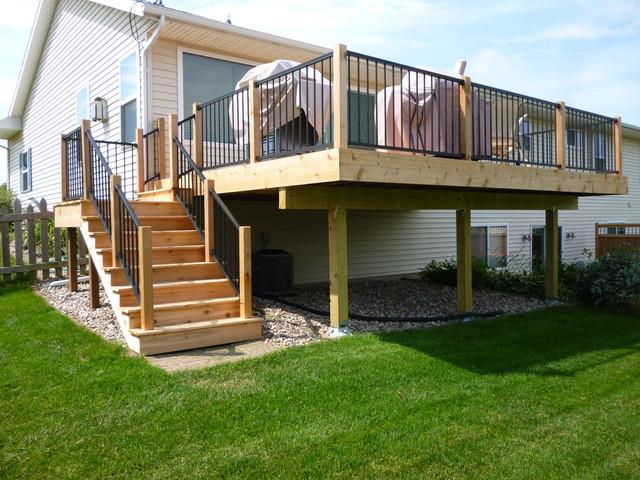 Prairie Rose Cedar Deck And Fence
