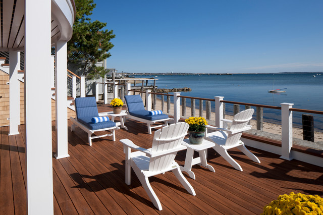 Provincetown Beach House Style Deck