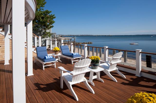 Provincetown Beach House Beach Style Deck Boston