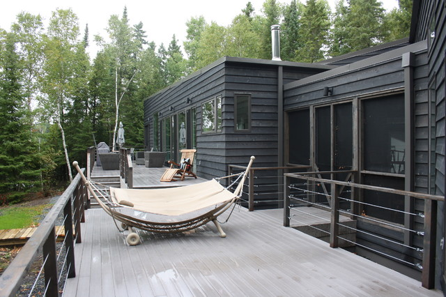 R Cottage Modern Deck Other By Bios Architecture