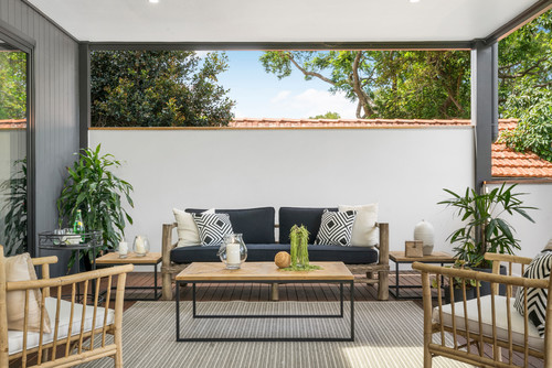 add greenery to your outdoor area