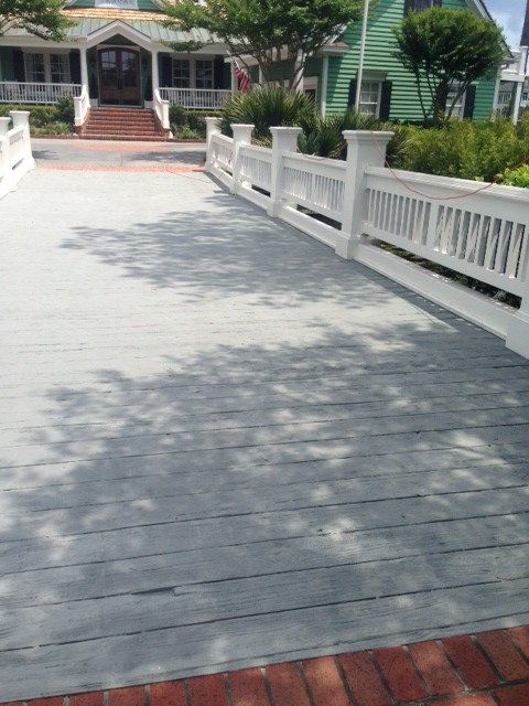 Residential Bridge RE-DO - Transitional - Deck - wilmington - by Deck and Patio Tuneup