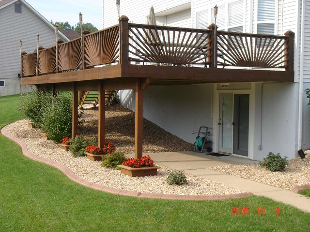 Residential Edging - Traditional - Deck - St Louis - by Curb Appeal