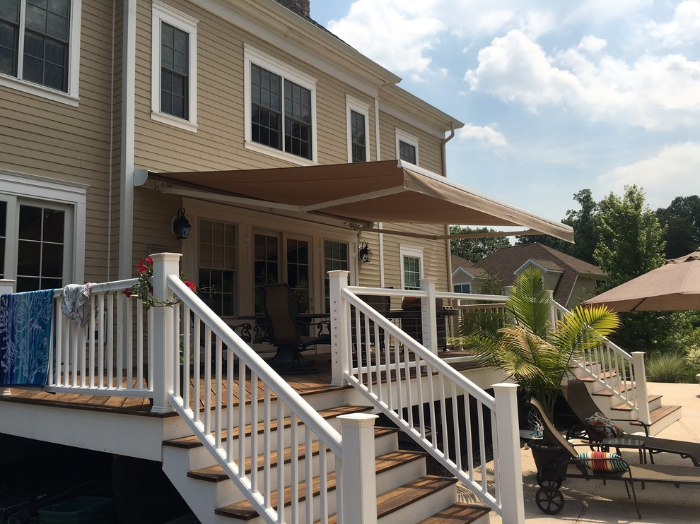 Retractable Awning - Deck - New York - by Ramapo Awning ...