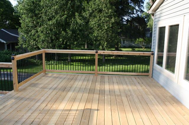 Rochester Hills, MI traditional-deck