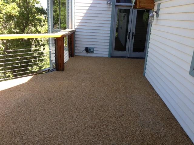 Rock Carpet Waterproof Deck Rustic Terrace Salt Lake