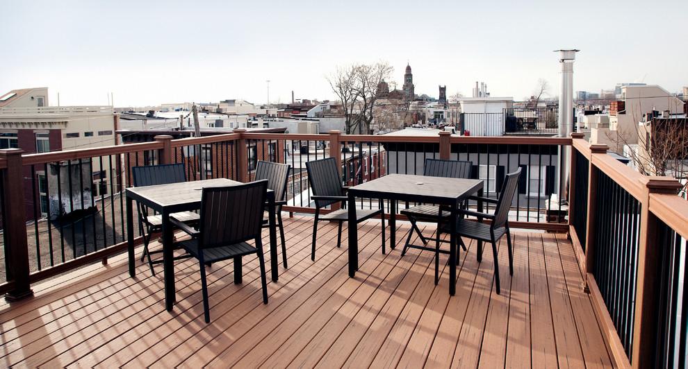 Roof Deck Center City Philadelphia Traditional Deck Philadelphia By Match Remodeling Inc
