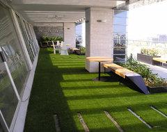 Rooftop Installations contemporary-deck