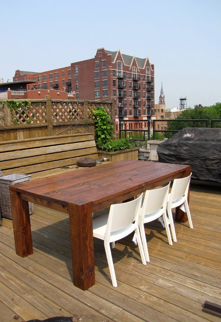 Rustic Elements Furniture traditional-deck