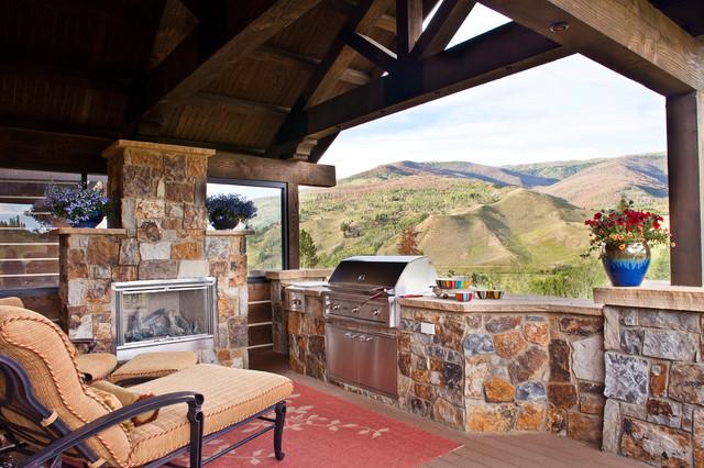 Rustic Modern Mountain Home