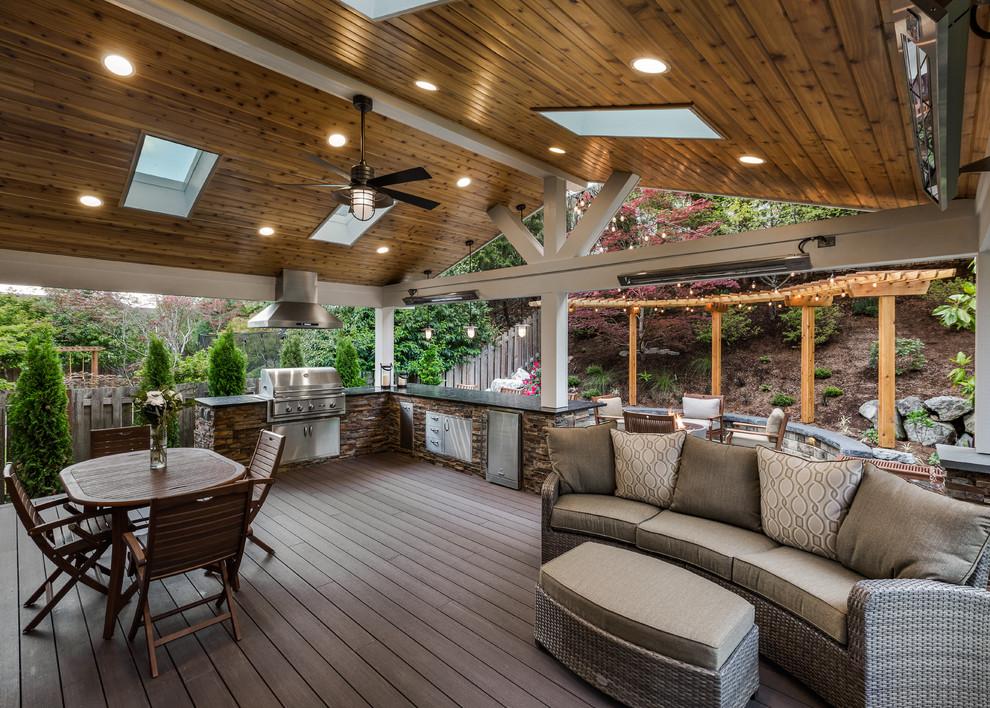 Sammamish Outdoor Living and Backyard Makeover ... on Urban Living Outdoor id=98600
