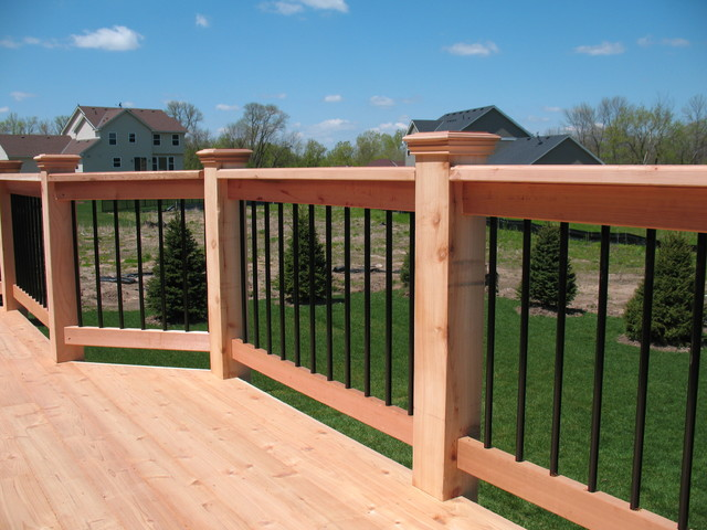 Savage Mn Traditional Deck Minneapolis By