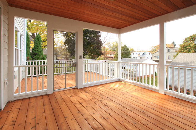 Screen Porch And Deck Traditional Deck Minneapolis