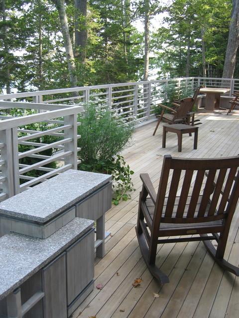 Seadrift contemporary-deck