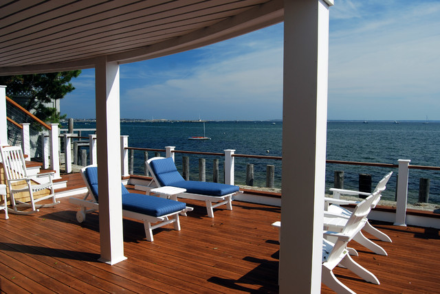 Seaside Deck traditional porch