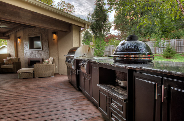 select outdoor kitchens traditional deck other metro