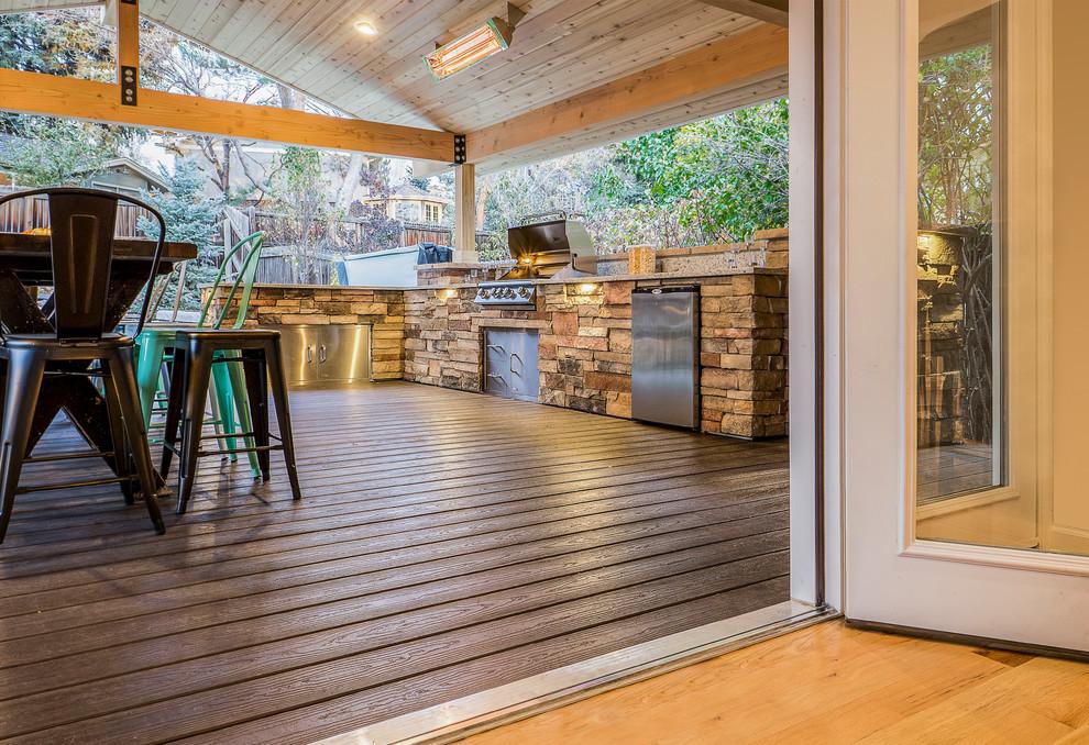 SERENE SKY - Rustic - Deck - Denver - by Elite Landscape ... on Elite Landscape And Outdoor Living id=21221