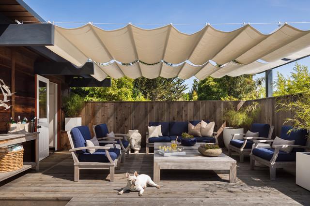 Best Midcentury Modern Deck Ideas Houzz - Backyard decking ideas