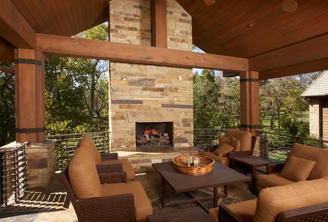 Shawnee, KS home contemporary-deck