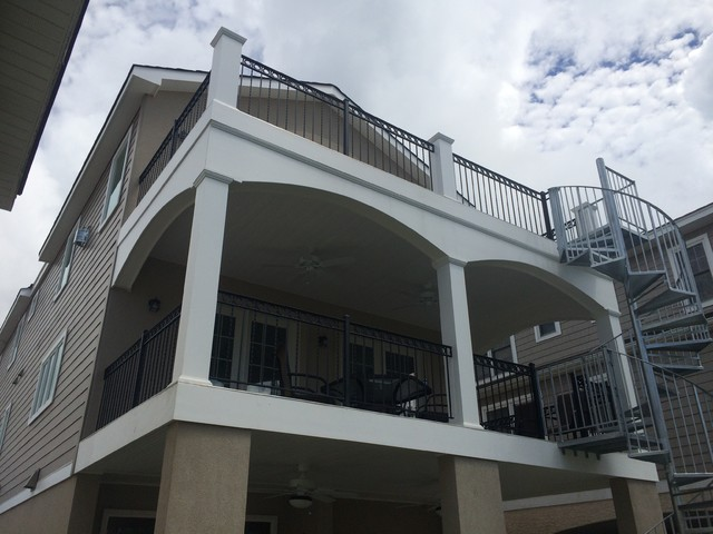 Shore house beach style deck philadelphia by for Shore house decor