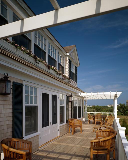 South Beach Retreat beach-style-porch