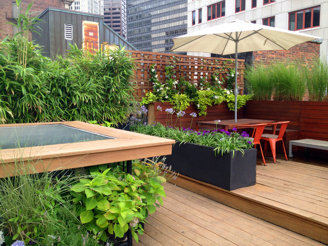 South End Roof Deck Contemporary Deck Boston By