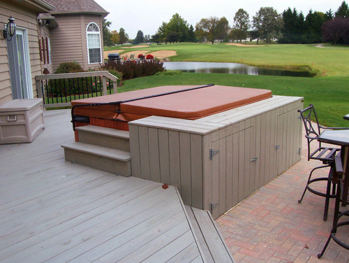 hot tubs in decks