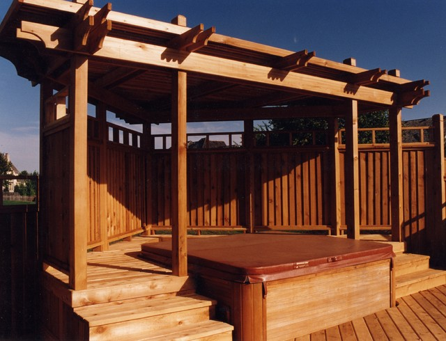 Spa Decks Traditional Deck Kansas City By Outdoor
