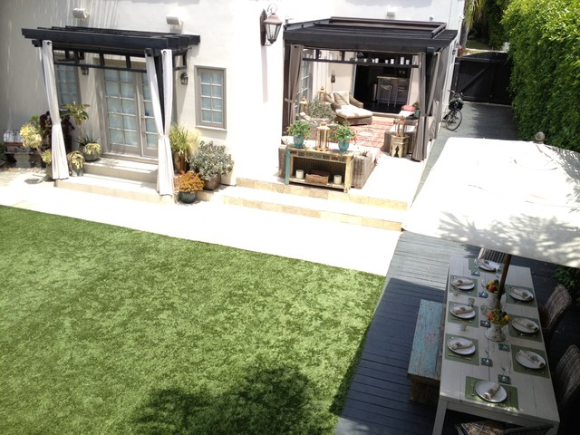 Spanish revival after eclectic deck los angeles by
