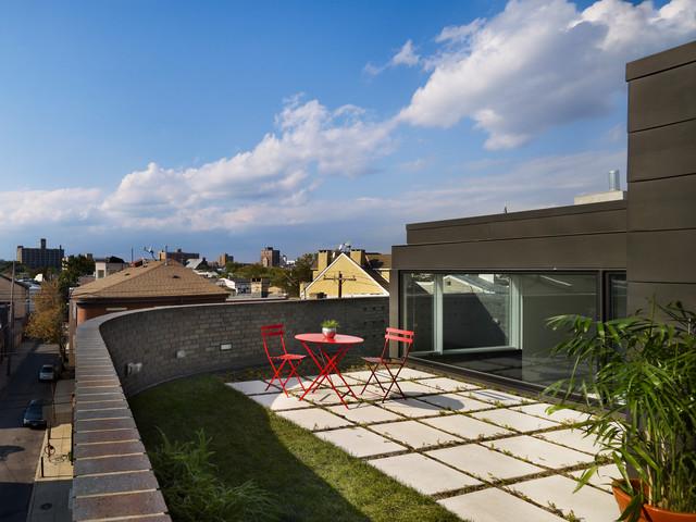 Split Level House Modern Deck Philadelphia By