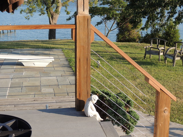 Stainless Steel Cable Railing Systems Modern Deck