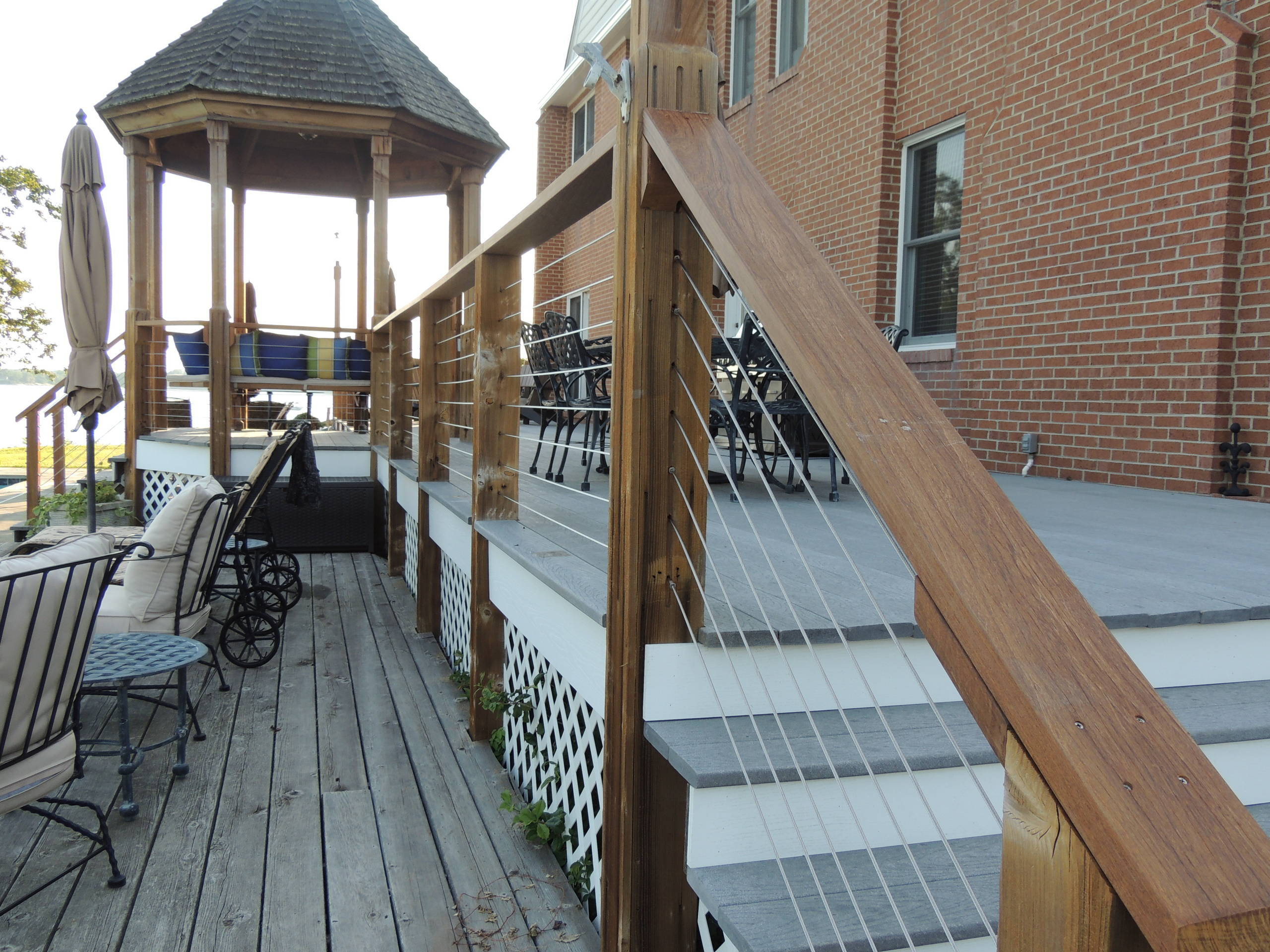 Picture of: Cable Deck Railing Houzz