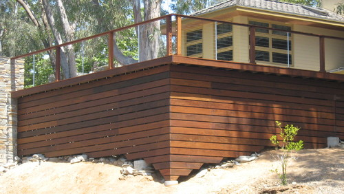 deck skirt board