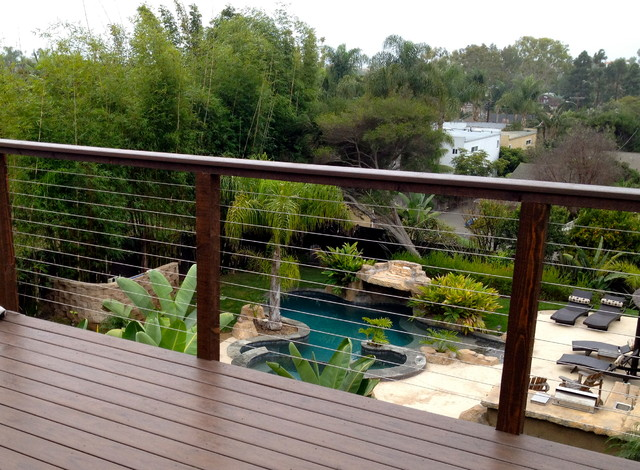 Stainless Steel Wires Modern Deck Other By San