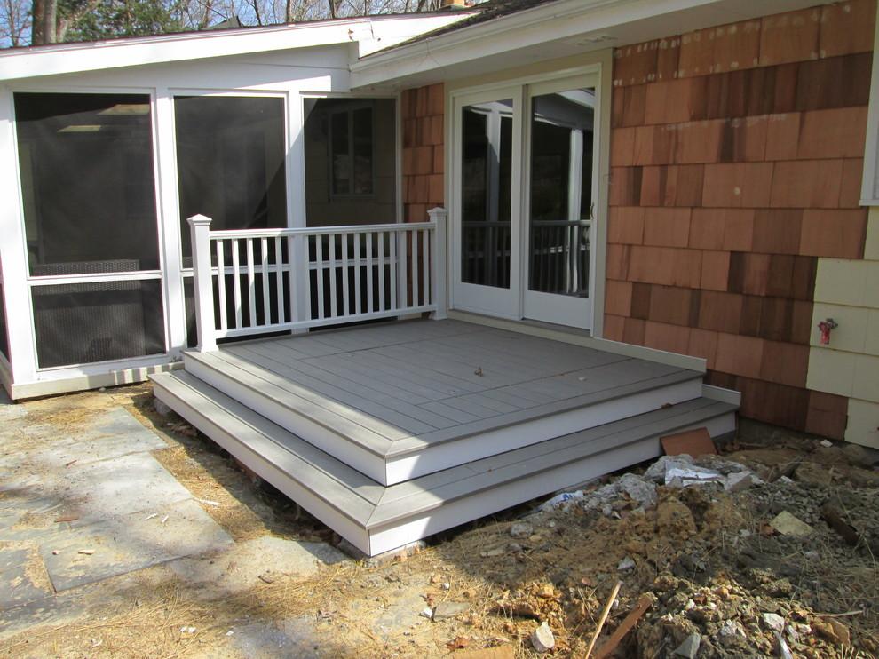 Deck - transitional deck idea in New York