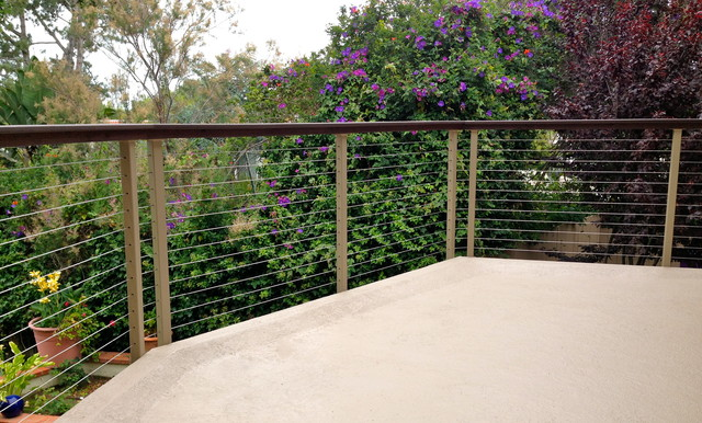 Powder Coated Deck Railing Modern Home Fencing And